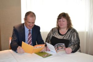 Jim Grimmer TBC and Claire Moggach Cairns Counselling